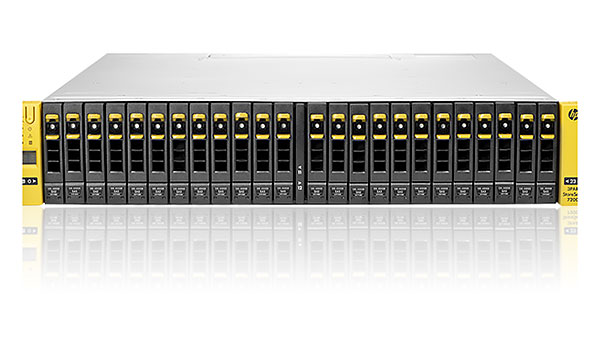 HP 3PAR StoreServ 7200 2-node Storage Base