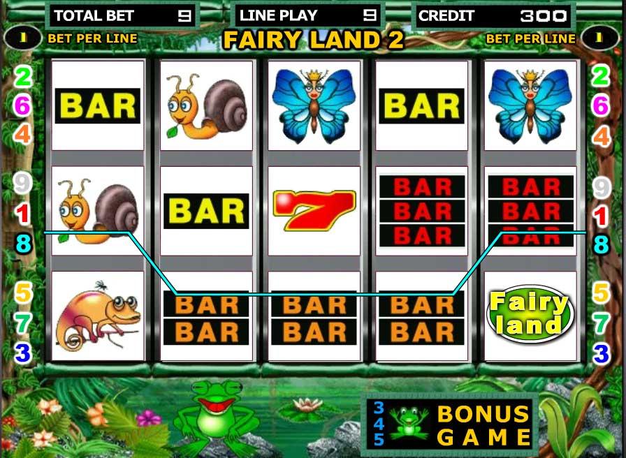 игровой автомат fairy land 2 duomatic