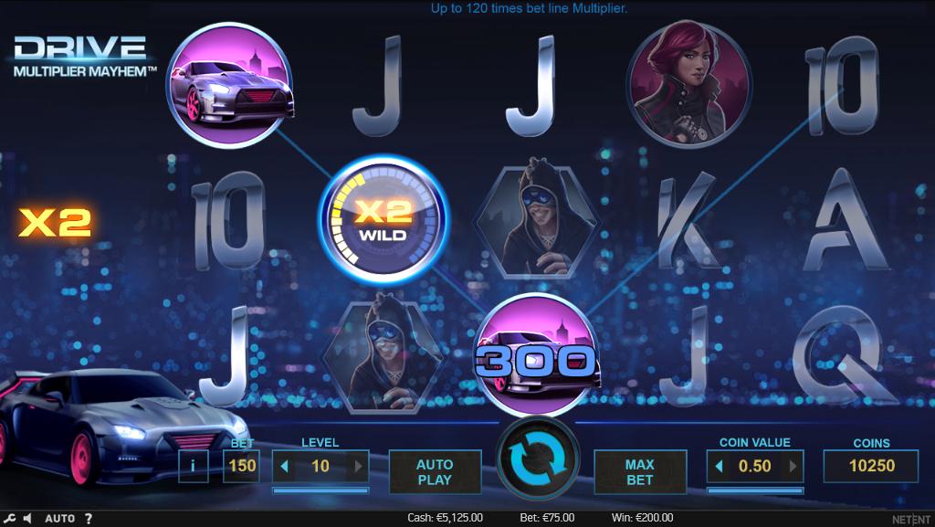 гонки игровые онлайн автоматы