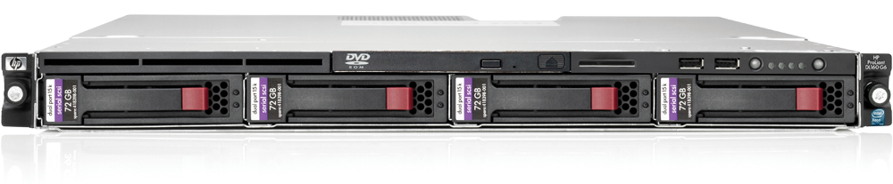 Сервер HP Proliant DL160 G6