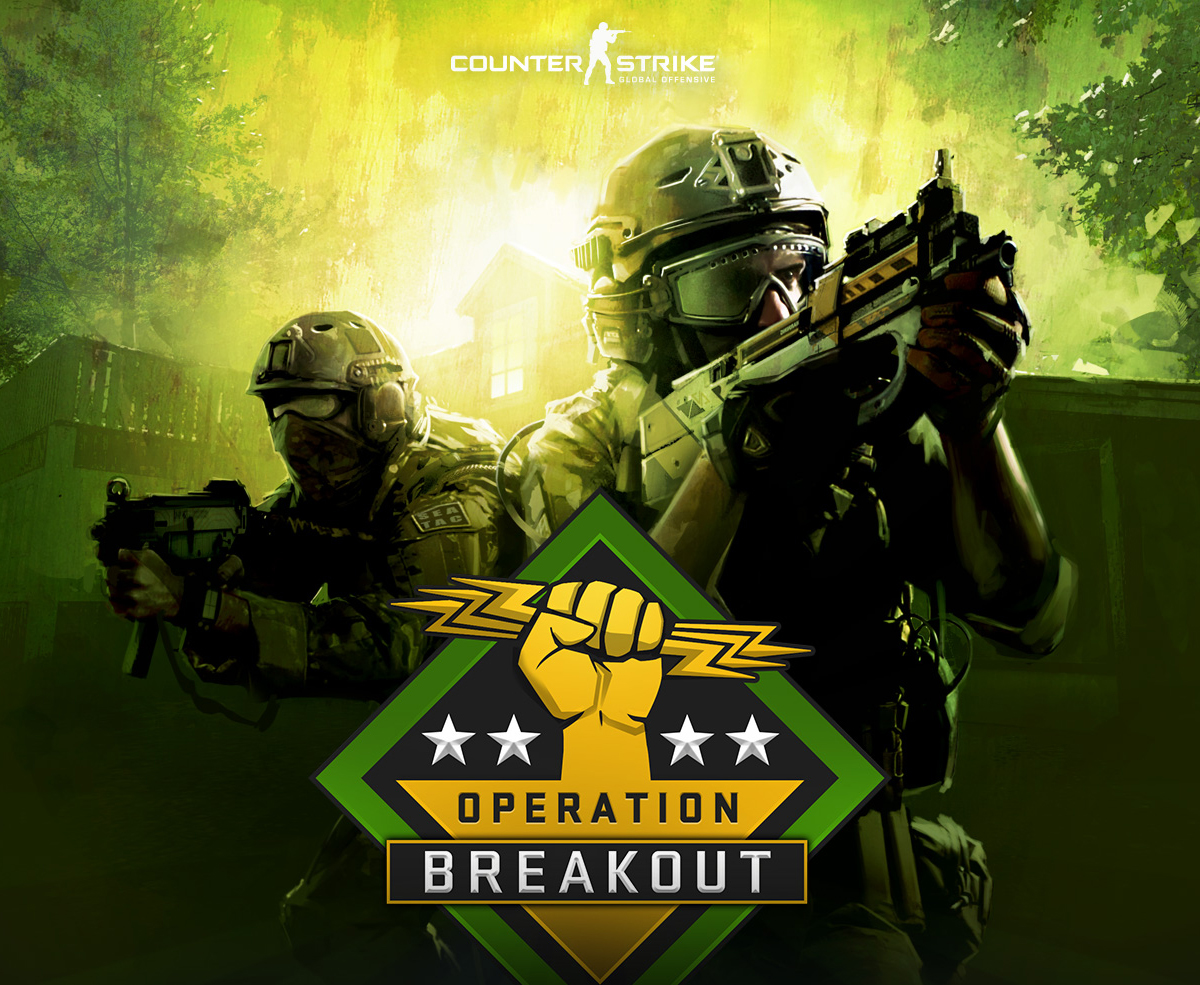 Operation Breakout - Операция Побег - CS:GO