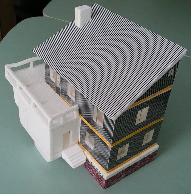 Дома из бумаги своими руками схемы