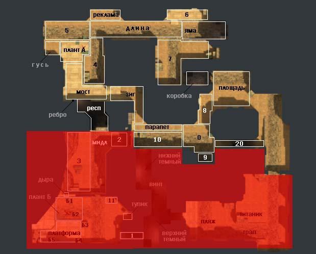 Скачать карту de dust2 2x2 для cs go