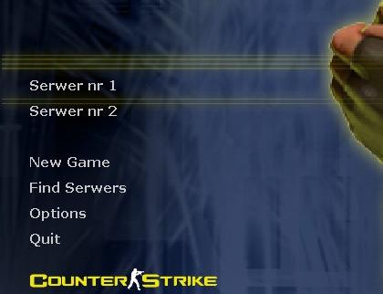 Gamemenu - плагин для CS 1.6 сервера