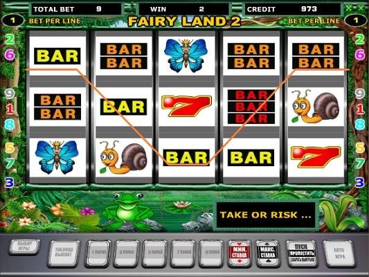 Fairy Land - Лягушки игровой автомат играть бесплатно
