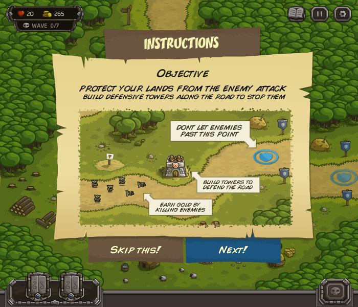 Флеш Игра Защита Королевства